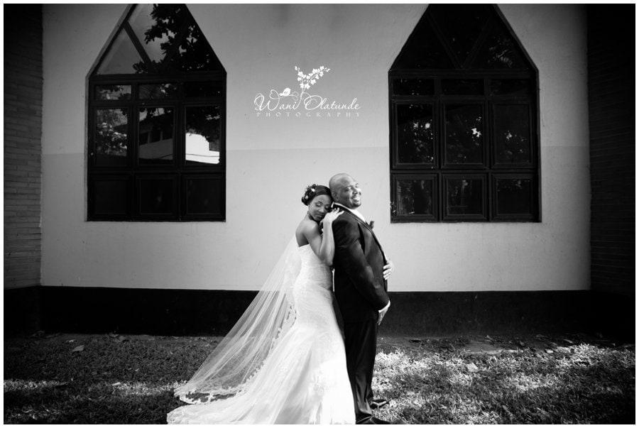 beautiful wedding in lagos photo