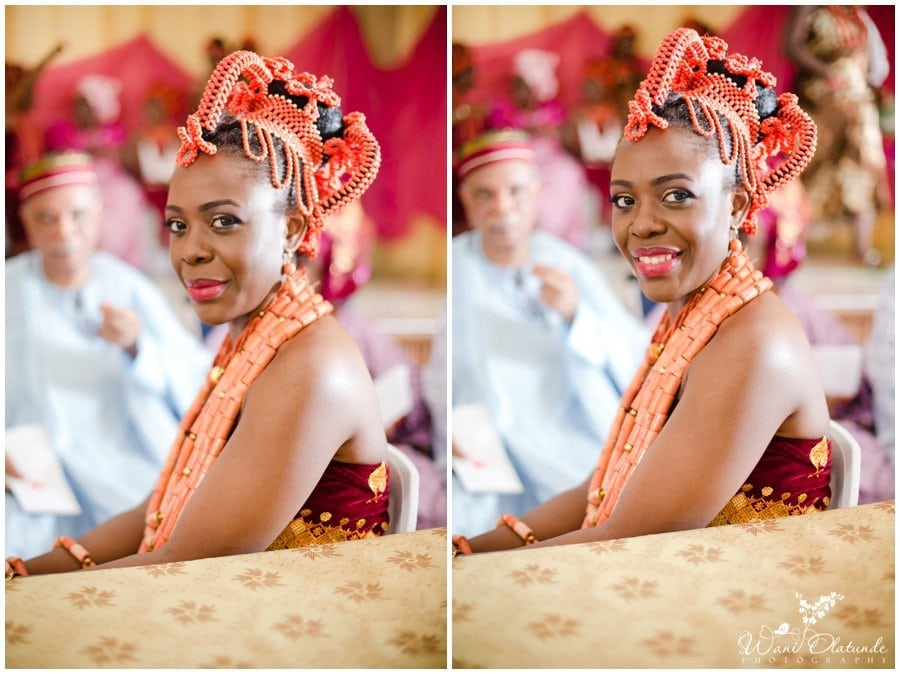 edo benin wedding in lagos photo