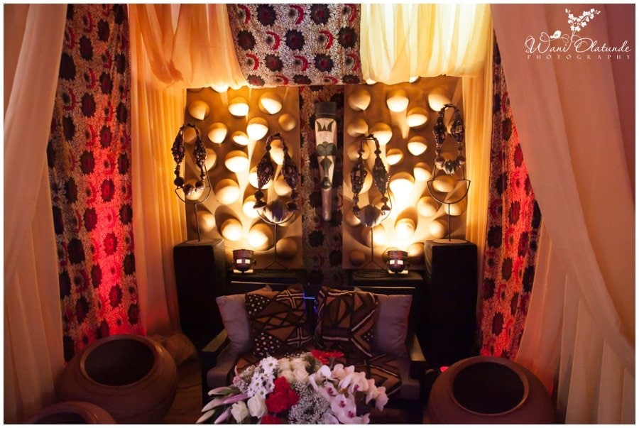 beautiful africa inspired wedding decor by newton and david