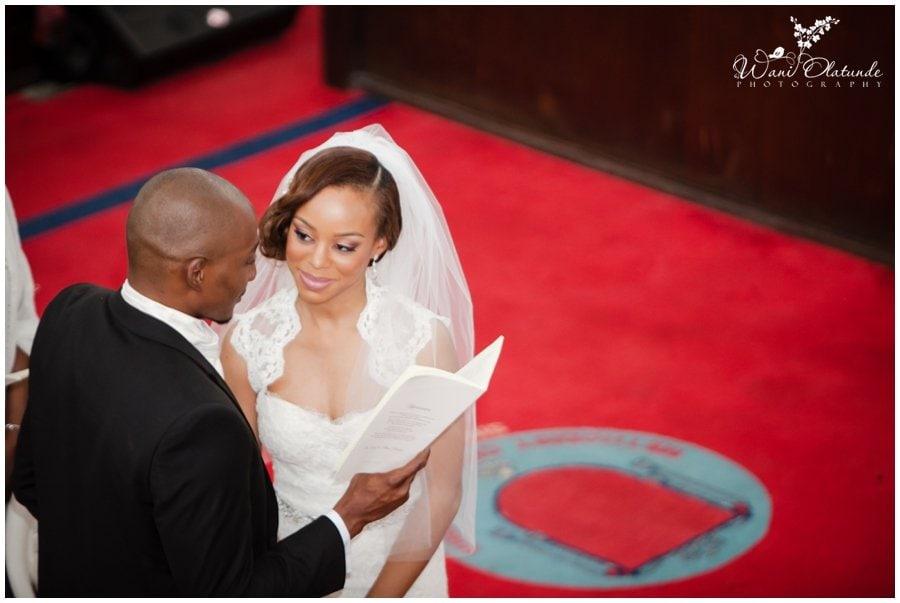 beautiful civic centre wedding in Lagos photo