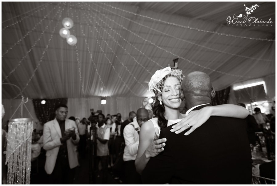 bride and father first dance photo