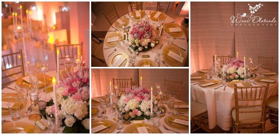 elegant wedding florals flowers decor table settings lagos wedding inspiration