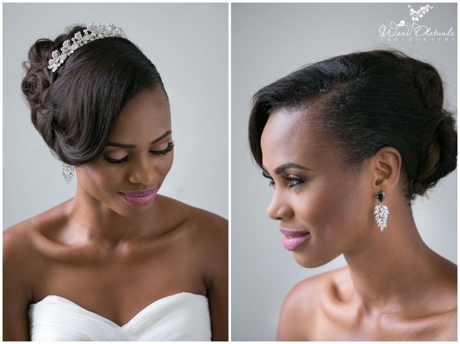 bridal wedding tiaras earrings accessories lagos wedding photography