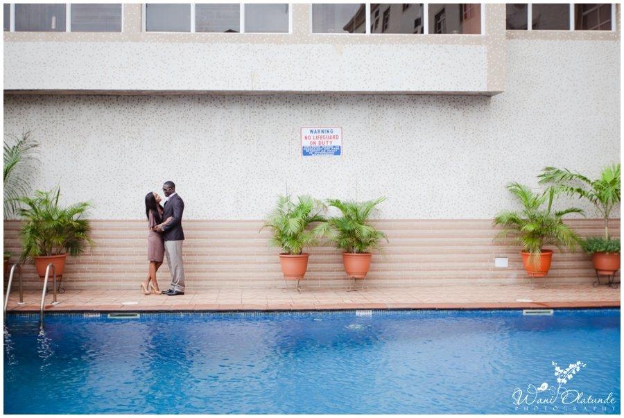lagos pre wedding d'palms hotel shoot photo