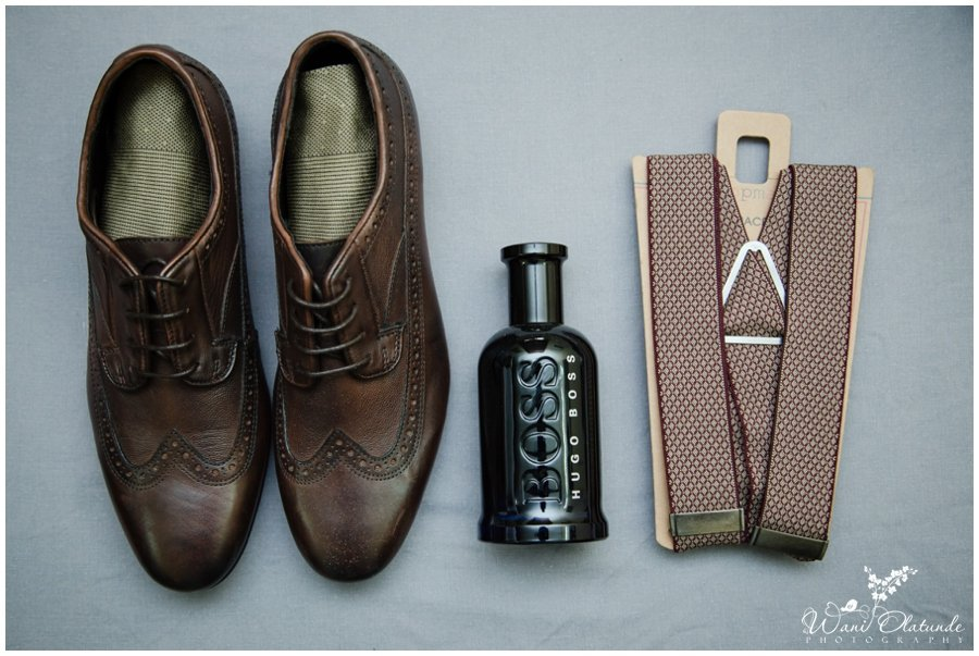 brown leather groom wedding shoes