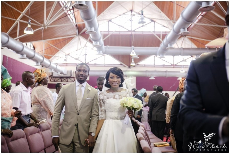 couple get married with pink & champane wedding theme at rccg city of david in lagos