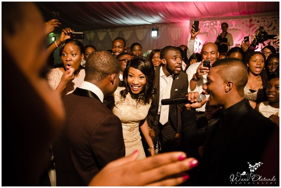 wizkid performs at pink and champagne wedding at landmark village event centre in lagos
