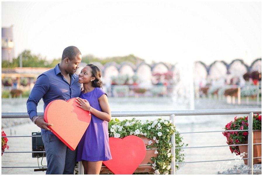 nigerian pre wedding shoot in dubai