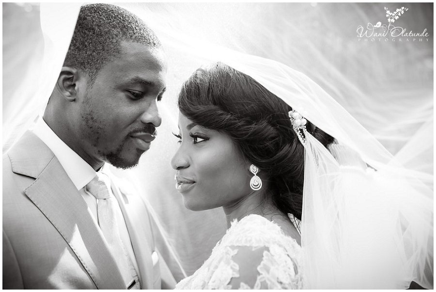 beautiful wedding photo by lagos wedding photographer