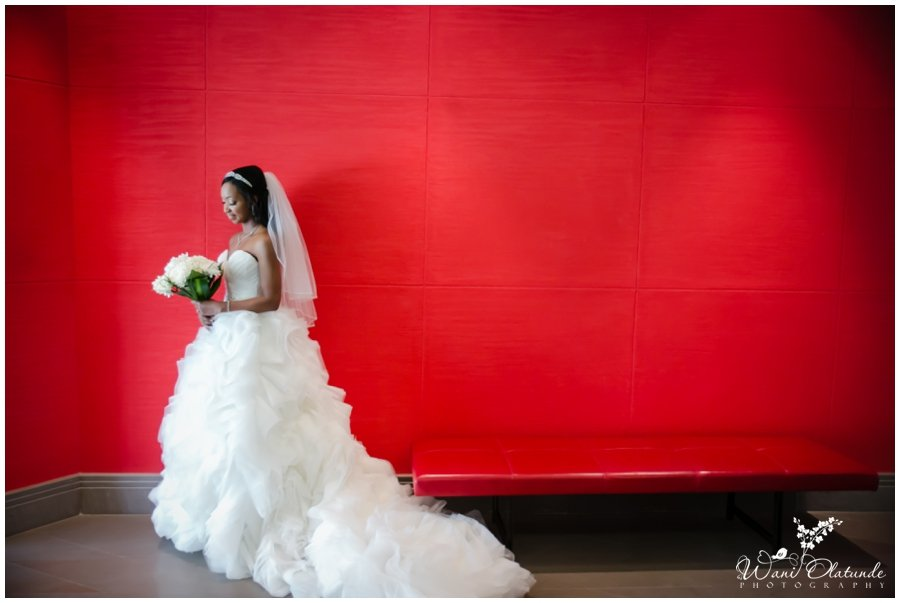 beautiful bridal portraits of nigerian bride in dubai hotel