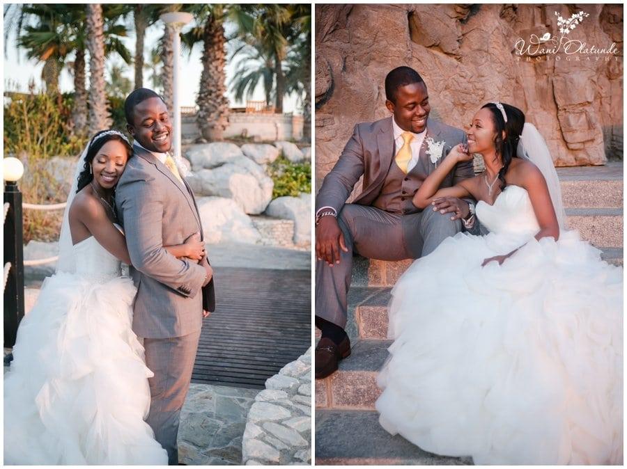beautiful creative couple portraits by top lagos wedding photographer