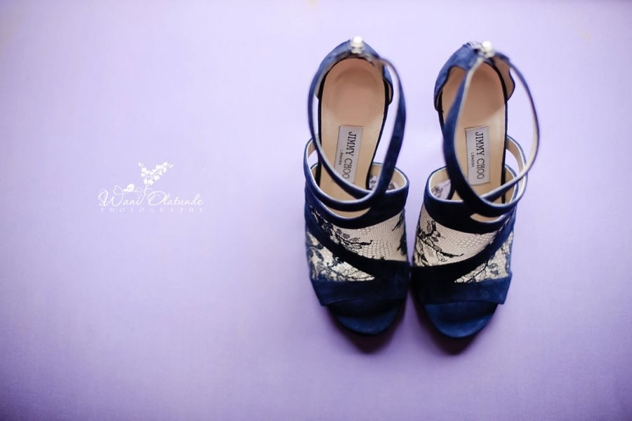 blue jimmy choo wedding shoes