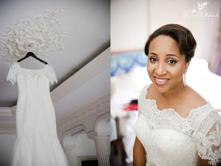 bride love tims dress lagos