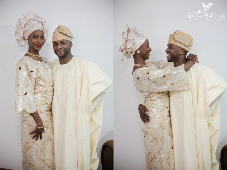 gold aso oke bisbod yoruba traditional wedding kfa