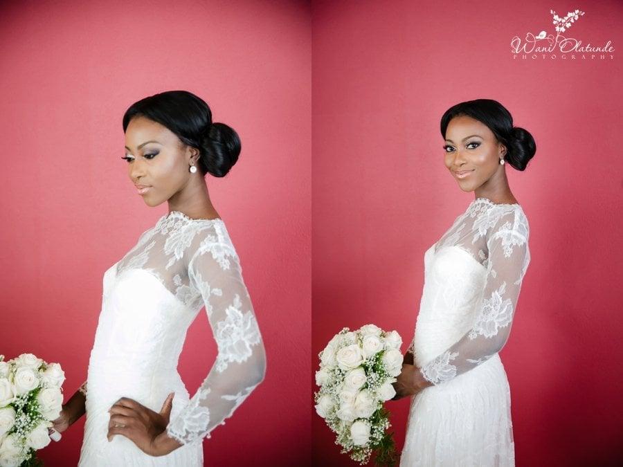 bride Monique Lhuillier dress radisson blu