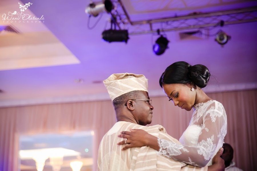 dancing with father wedding civic centre lagos