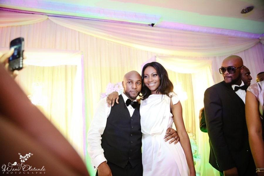 groom tom ford bride roland mouret civic centre lagos wedding