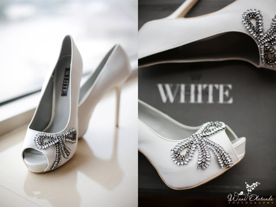 vera wang white shoes lagos wedding
