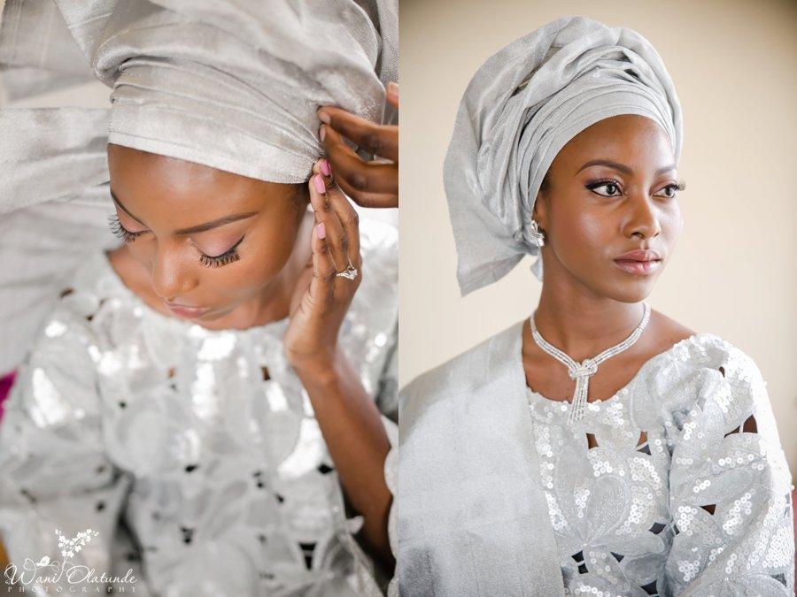 yoruba traditional wedding silver bisbod asooke