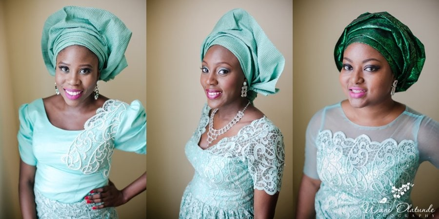 green asoebi aso ebi yoruba wedding