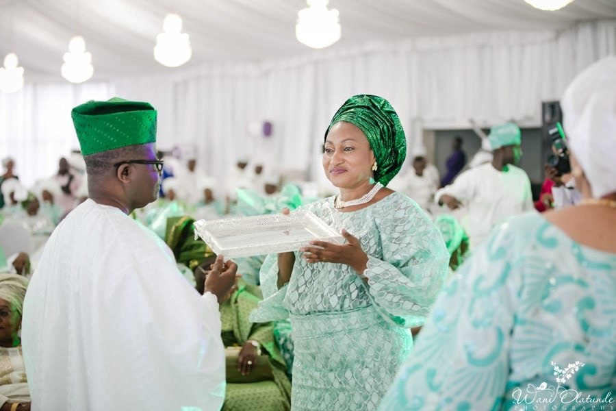 silver and green yoruba traditional wedding kfa_0025