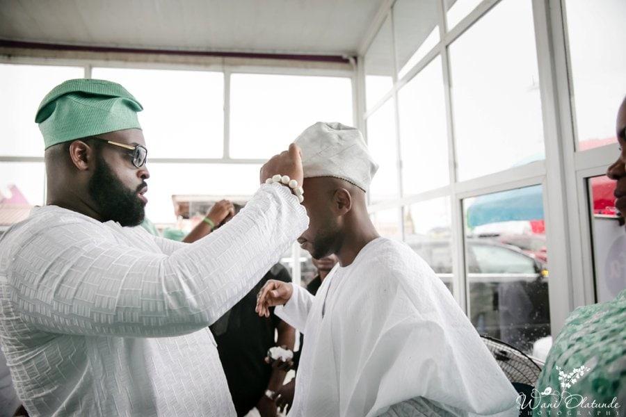 silver and green yoruba traditional wedding kfa_0032