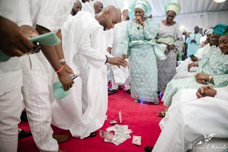 silver and green yoruba traditional wedding kfa_0041