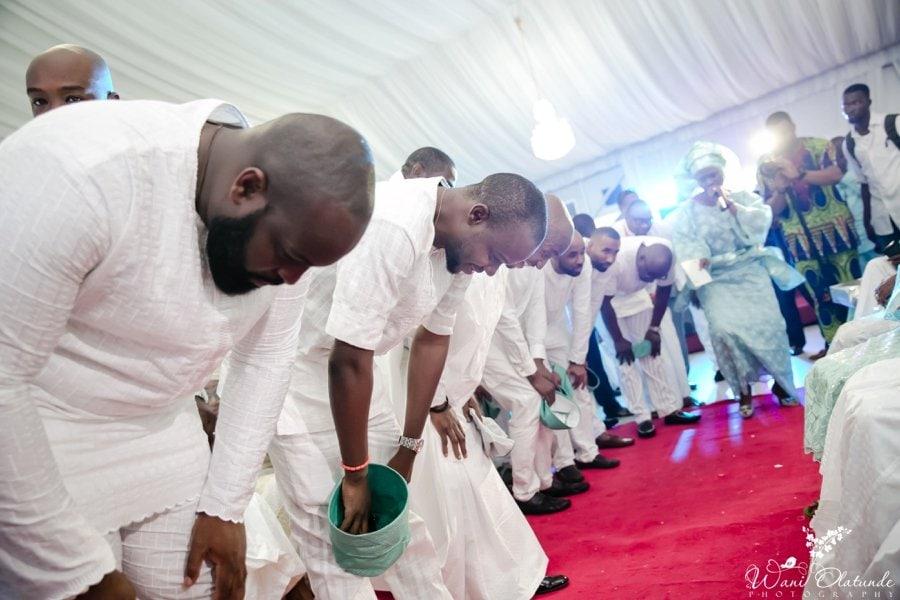 silver and green yoruba traditional wedding kfa_0042