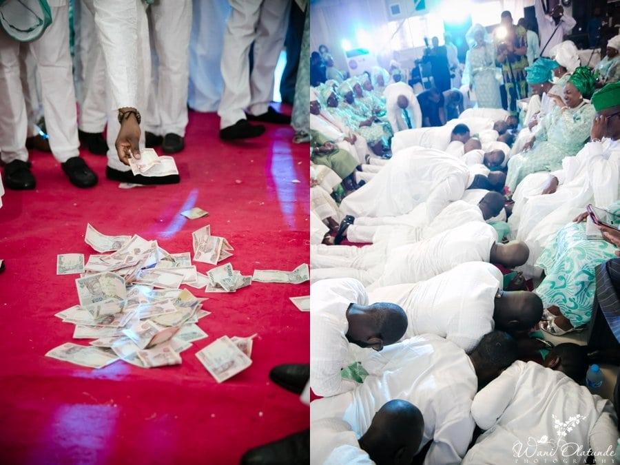 silver and green yoruba traditional wedding kfa_0043