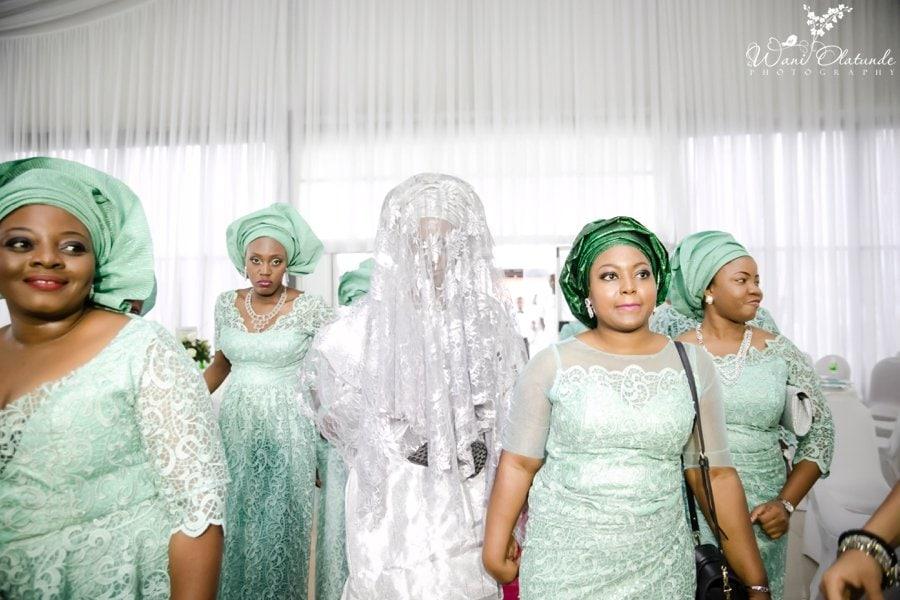 silver and green yoruba traditional wedding kfa_0049