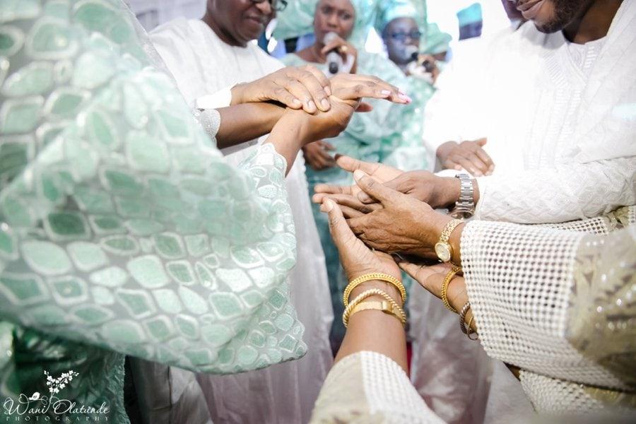 silver and green yoruba traditional wedding kfa_0064