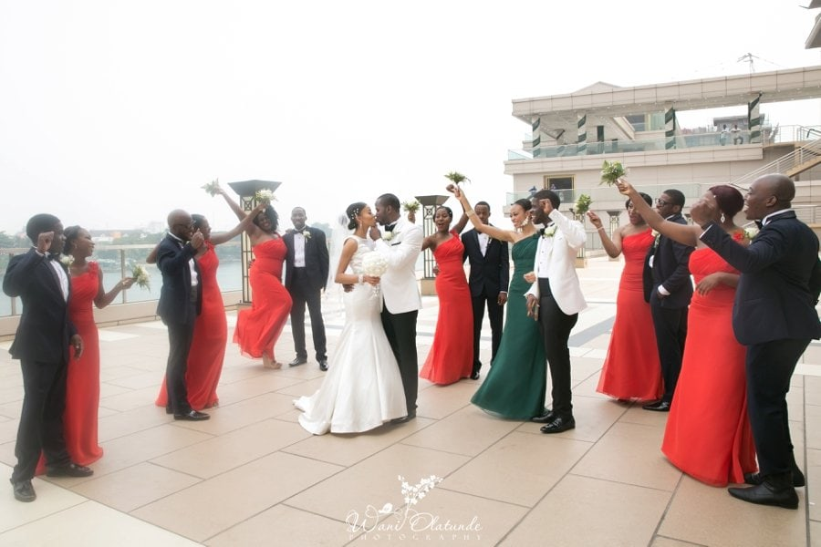 orange & teal wedding lagos oriental hotel_0013