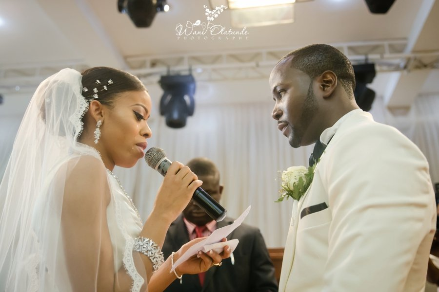 couple getting married at lagos oriental hotel