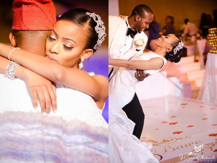wedding at lagos oriental hotel grand ballroom