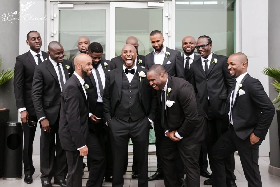 tom ford suit lagos wedding  groom