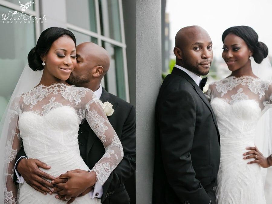 monique huller wedding dress lagos radisson blu