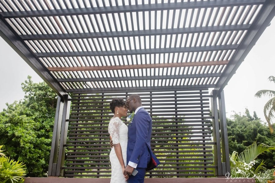 federal palace outdoor  wedding in lagos