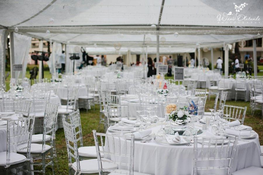 white garden reception federal palace hotel  wedding