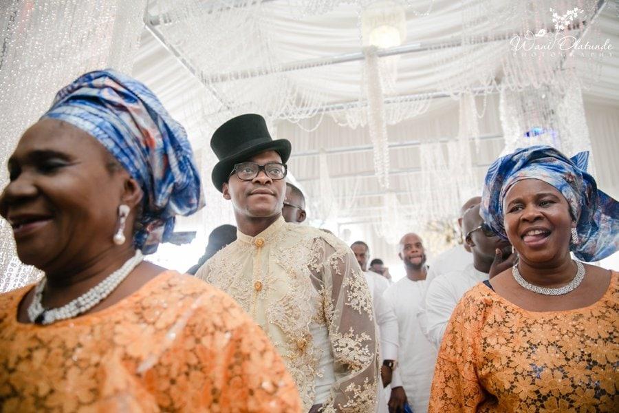 yoruba groom marrying urhobo bride ruby gardens traditional wedding