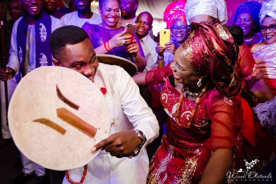 ibo groom dancing traditional wedding wani olatunde