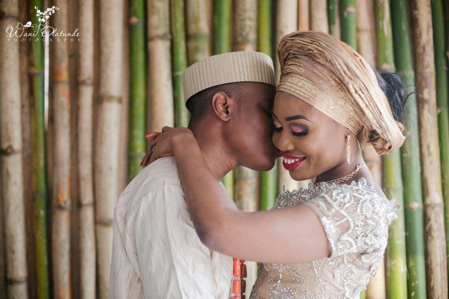 gold ibo traditional wedding grandeur events centre wani olatunde