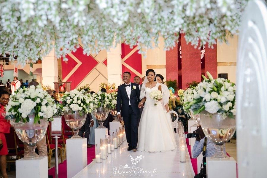 trem wedding ceremony okonkwo wani olatunde