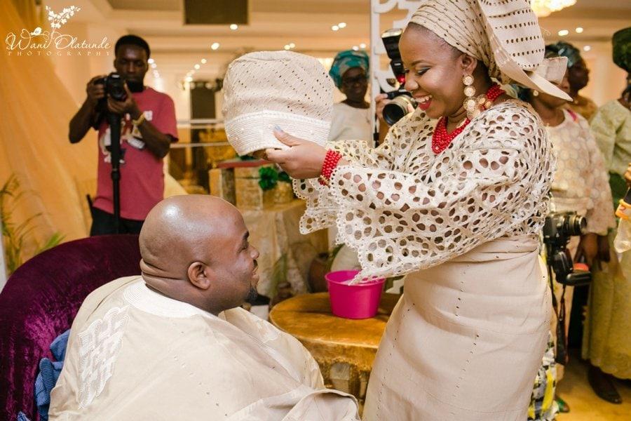 yoruba traditional wedding lekki coliseum wani olatunde