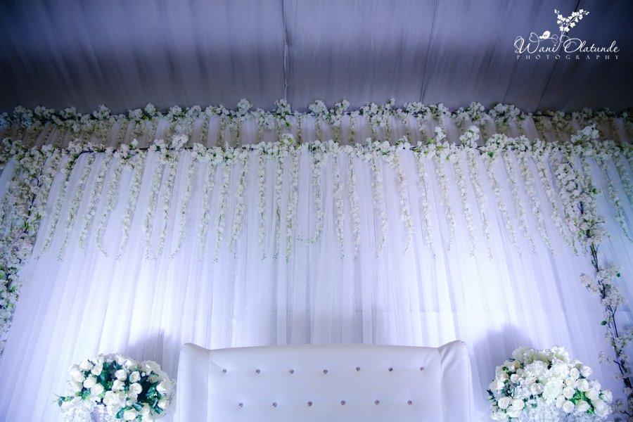 white yoruba traditional wedding grandeur event centre wani olatunde photo