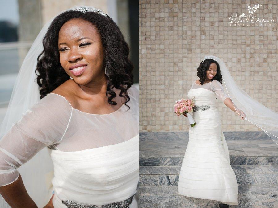 lagos bride vera wang wedding dress lekki coliseum wani olatunde