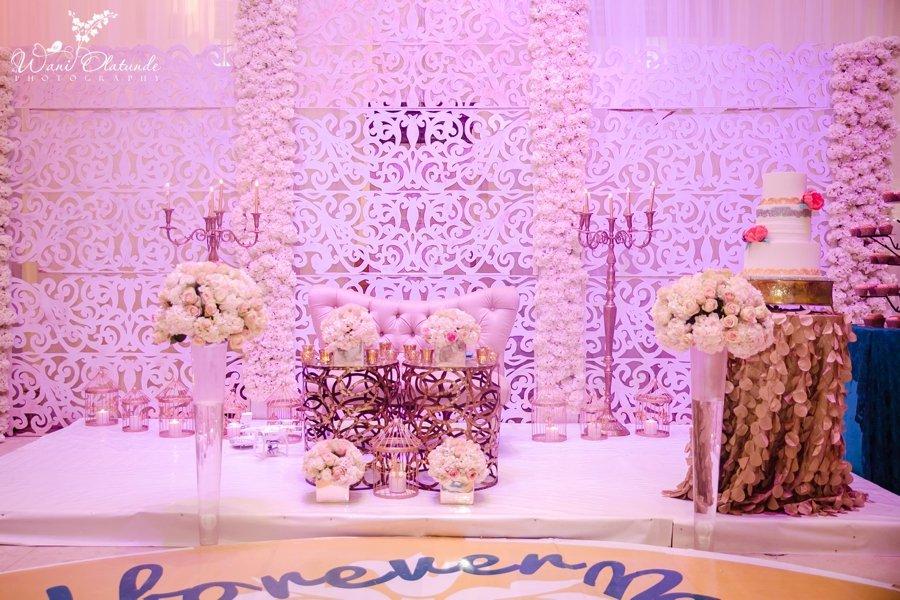 lekki coliseum oaken wedding decor wani olatunde