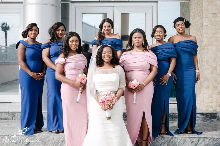 fab lane by derin bridesmaid dresses lekki coliseum wani olatunde