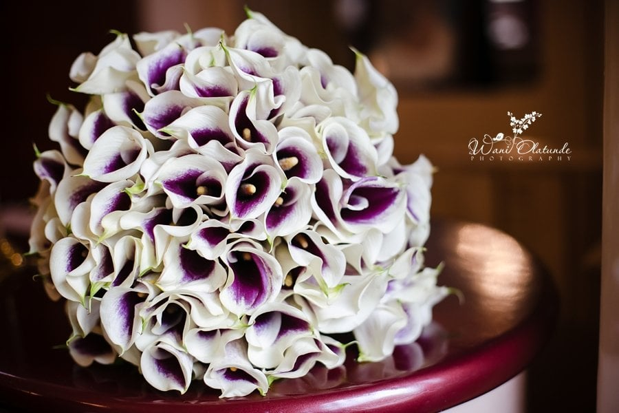 lily lilies wedding flowers wani olatunde
