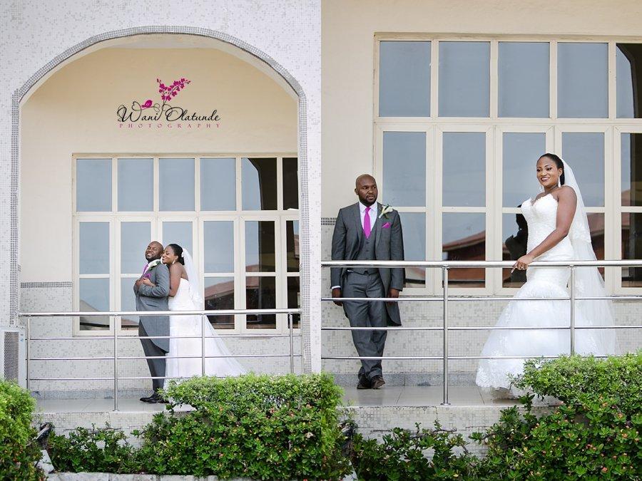 bride maggie sottero dress wani olatunde