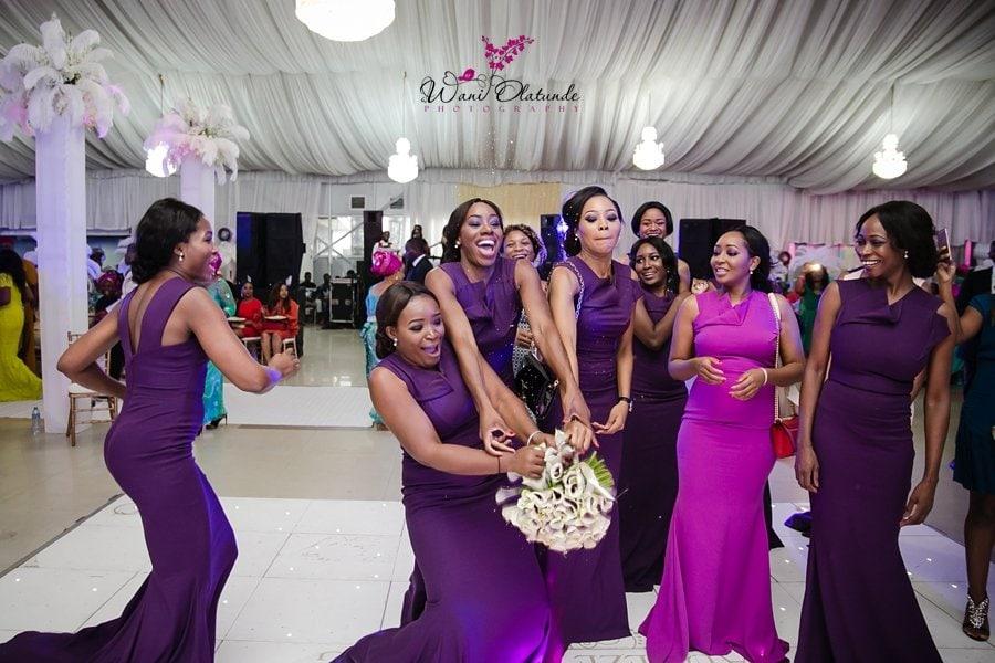 peridot lola bridesmaid dresses lagos wedding wani olatunde